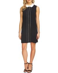 Cece by Cynthia Steffe - Embroidered Front Shift Dress - Lyst