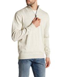 Surfside Supply - Mock Neck Knit Zip Up Pullover - Lyst