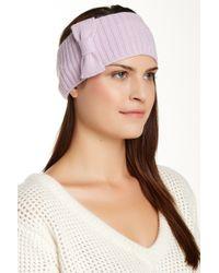 Portolano - Minerva Bow Headband - Lyst