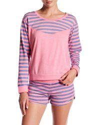 Honeydew Intimates - Undrest Raglan Sweatshirt - Lyst