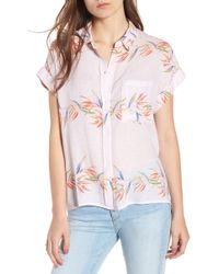 Rails - Whitney Print Shirt - Lyst