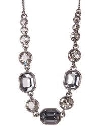 Givenchy - Square Stone Crystal Necklace - Lyst