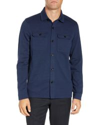 Ted Baker - Toolow Trim Fit Solid Sport Shirt - Lyst
