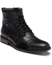 Steve Madden - Senate Lace-up Boot - Lyst