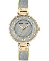 Anne Klein - Women's Trend Bangle Bracelet, 30mm - Lyst