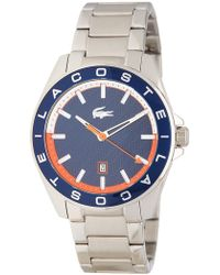 Lacoste - Men's Westport Bracelet Watch - Lyst