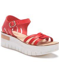 Khrio - Platform Leather Sandal - Lyst