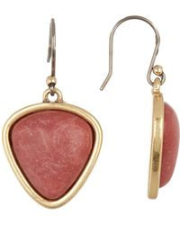 Lucky Brand - Stone Drop Earrings - Lyst