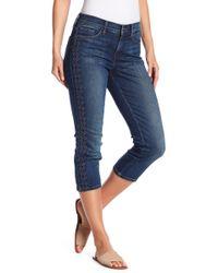 NYDJ - Alina Embroidered Capri Jeans - Lyst