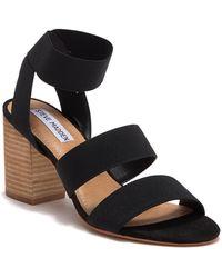 28c77d29695 Steve Madden - Mytcha Strappy Block Heel Sandal - Lyst