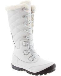 BEARPAW - Isabella Genuine Sheepskin Lined Lace-up Boot - Lyst