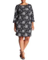 Michael Kors - Mod Floral Shift Dress (plus Size) - Lyst