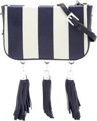 Luana Italy - Medea Leather Crossbody Bag - Lyst