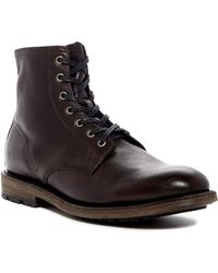 Frye - Bowery Lace-up Leather Boot - Lyst