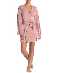 Cosabella - Luxe Crushed Velvet Robe - Lyst