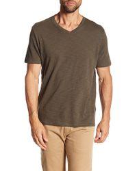 Vince - V-neck Cotton Shirt - Lyst