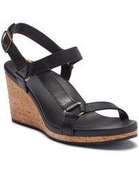 Teva - Arrabelle Leather Wedge Sandal - Lyst