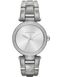 MICHAEL Michael Kors - Women's Delray Analog Quartz Bracelet Watch, 36mm - Lyst