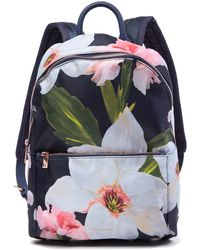 596c3afb7662 Ted Baker - Osmoni Chatsworth Bloom School Backpack - Lyst