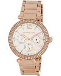 MICHAEL Michael Kors - Women's Parker Bracelet Watch, 38mm - Lyst