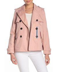 BCBGeneration - Missy Short Double Breasted Trench - Lyst