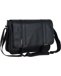 Ben Sherman - Single Gusset Flapover Messenger Bag - Lyst