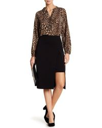 Insight - Front Slit Pencil Skirt - Lyst