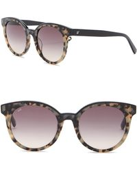 Web - We0195 Round 51mm Acetate Sunglasses - Lyst