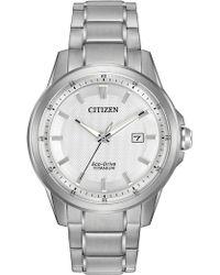 Citizen - Men's Eco-drive Ti & Ip Titanium Watch - Lyst