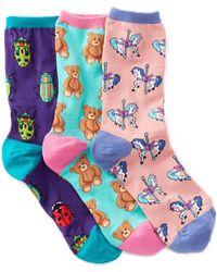 Socksmith - Animal Socks - Pack Of 3 - Lyst