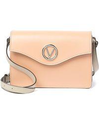Valentino By Mario Valentino - Jade Leather Shoulder Bag - Lyst