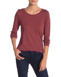 Threads For Thought - Sydney Scoop Long Sleeve Tee - Lyst