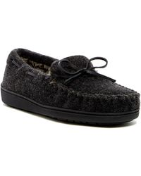 Minnetonka - Felix Faux Fur Lined Trapper Slipper (men) - Lyst