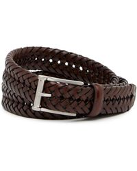 Nordstrom - New Braid Leather Belt - Lyst