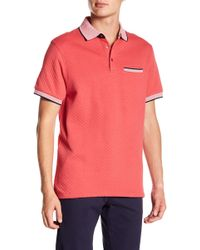 7 Diamonds - Lewis Quilted Polo - Lyst