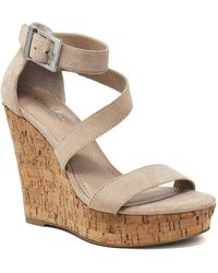 Charles David - Amigo Wedge Sandal - Lyst