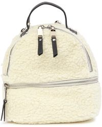 Steve Madden - Faux Fur Minnie Mini Backpack - Lyst