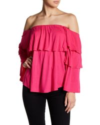 Vava By Joy Han - Adonia Off-the-shoulder Top - Lyst
