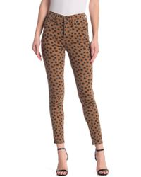 80d318edf0bc Madewell - High Rise Leopard Dot Skinny Jeans - Lyst