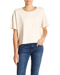 Current/Elliott - The Side Ruffle Tee - Lyst