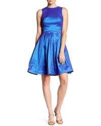 Nicole Bakti - Sleeveless Pleated A-line Dress - Lyst