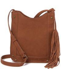 Lucky Brand - Wren Leather Shoulder Bag - Lyst