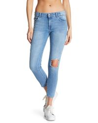 DL1961 - Florence Cropped Skinny Jeans - Lyst