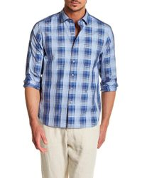 Tommy Bahama - Shadow Ridge Trim Fit Shirt - Lyst