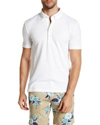 Lands' End - Stretch Pique Short Sleeve Polo - Lyst