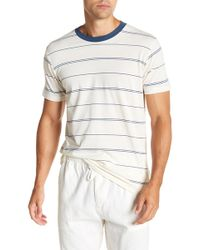 Billabong - Short Sleeve Stripe Print Tailored Fit Tee - Lyst