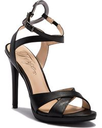 Fergie - Naima Leather Ankle Strap Sandal - Lyst