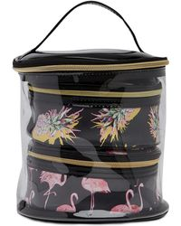Under One Sky - Flamingo Party/pink Trio Cylinder Cosmetic Set - Lyst
