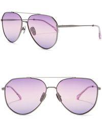 f8ebbf0d442fd X Jessie James Decker Dash 61mm Polarized Aviator Sunglasses -.  85.  Nordstrom · DIFF - Dash 61mm Sunglasses - Lyst