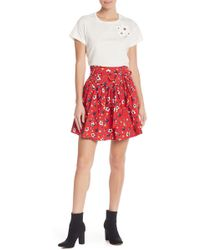 Marc Jacobs - Floral Yoked Flare Skirt - Lyst